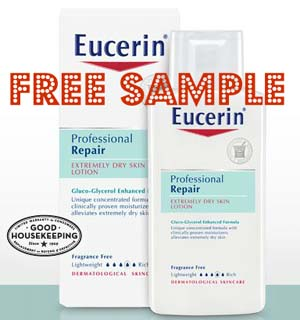 Expired* Free Sample Eucerin Professional Repair