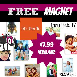 Shutterfly Free Magnet