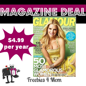 Deal $4.99 for Glamour Magazine