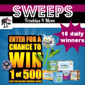 Sweeps Scotties When Allergies Attack (16 Daily Winners)