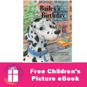 Free Children's eBook: Bailey's Birthday