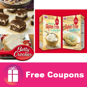 Freebie Betty Crocker Gluten Free