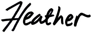 Heathers Signature