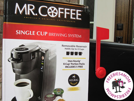 FreeBox Giveaway: Mr. Coffee Brewing System ($80 value)