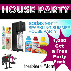 Free House Party: SodaStream Sparkling Summer