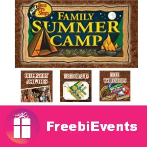 Free Family Summer Camp at Bass Pro Shops