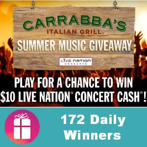 Sweeps Carrabba's Italian Grill Summer Music