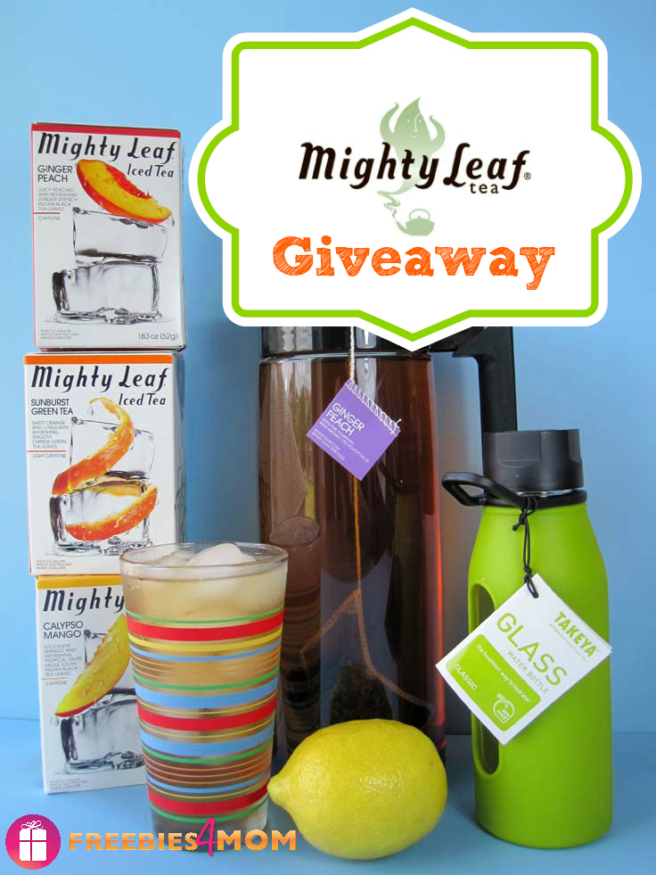 Mighty Leaf Iced Tea Giveaway