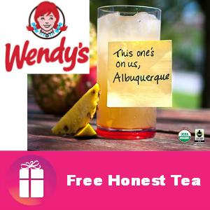 Free Honest Tea at Wendy's