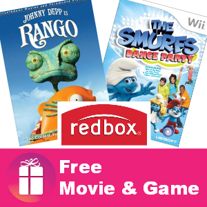 Freebie Redbox Movie and Game August 1