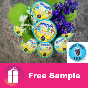 Freebie Brew Over Ice Snapple K-Cups