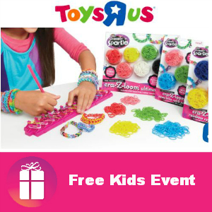 Free Cra-Z-Loom Bracelet Making Event