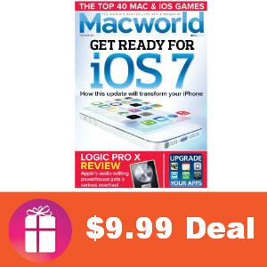 Deal Macworld Magazine for $9.99