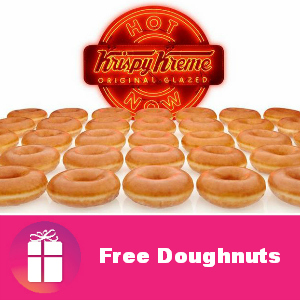 Free Doughnuts at Krispy Kreme Sept. 19