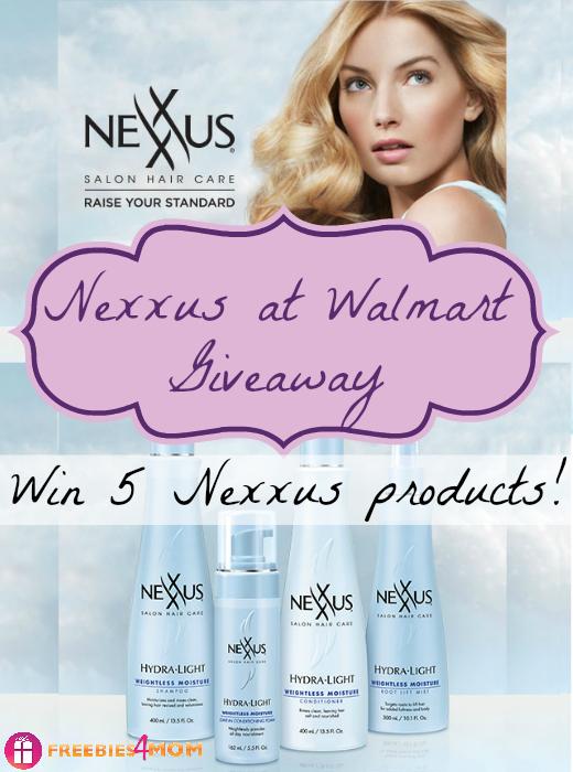 Nexxus at Walmart Giveaway