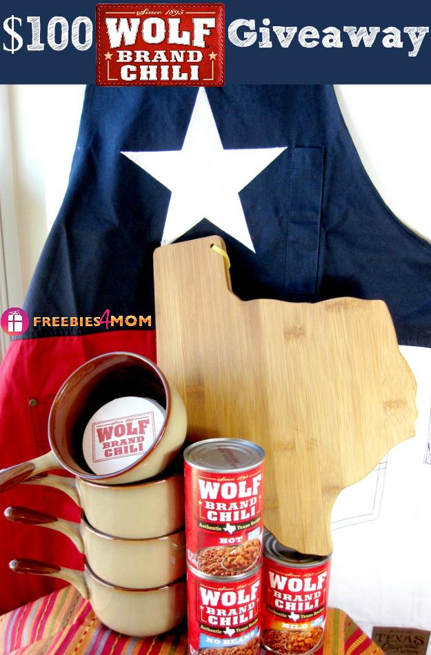$100 Wolf Brand Chili Giveaway