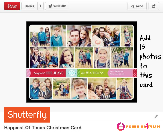 Happiest of Times Christmas Card