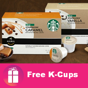 starbucks keurig samples