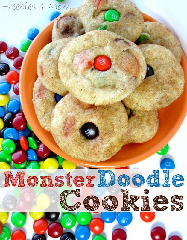 MonsterDoodle Cookies Recipe #SpookyCelebration #cbias #shop