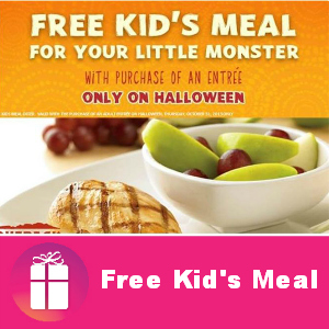 Free Kids Meal at Outback Steakhouse Oct. 31