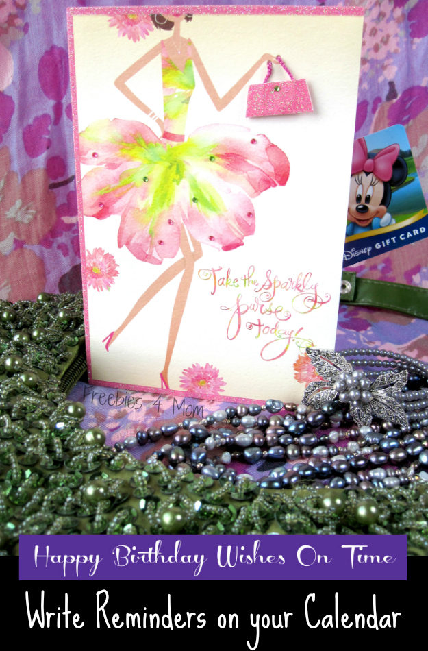 Send Happy Birthday Wishes On Time with Hallmark - Write Reminders on Your Calendar #BirthdaySmiles #cbias #shop