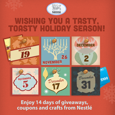 Nestle Holiday Countdown