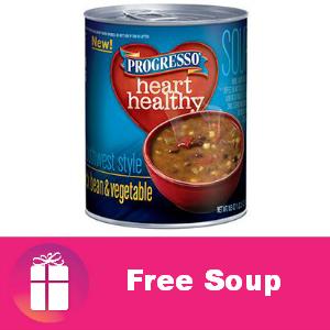 Free Progresso Soup