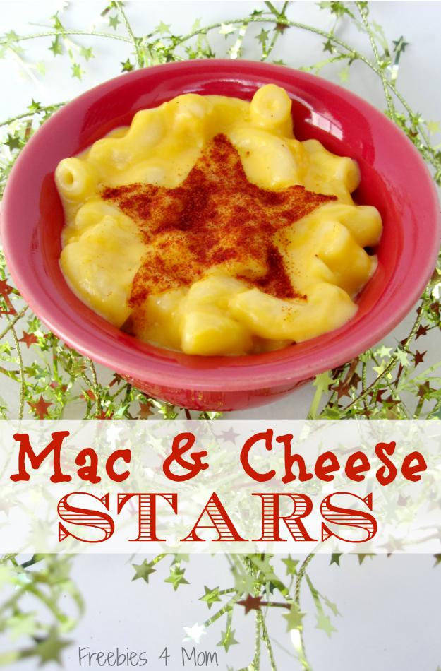 Mac & Cheese Stars #PlanAhead #shop