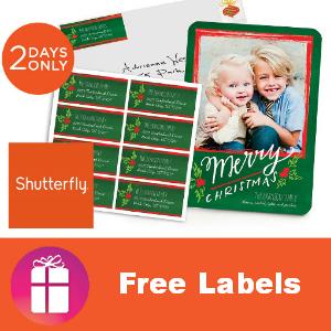 Shutterfly Free Address Labels