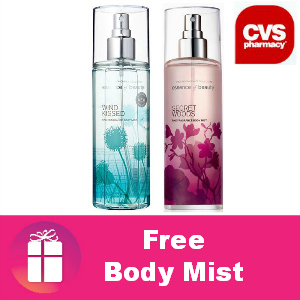 Free Body Mist at CVS
