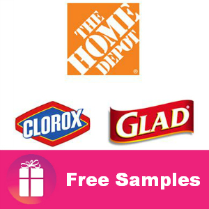 Free Samples of Clorox and Glad from The Home Depot