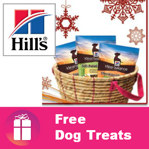Free Hill's Ideal Balance Dog Treats ($8.85 value)