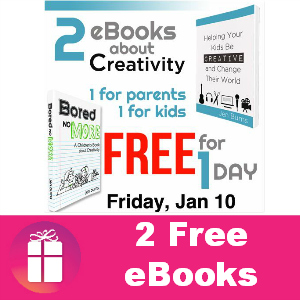 2 Free eBooks About Creativity *Jan. 10 Only*