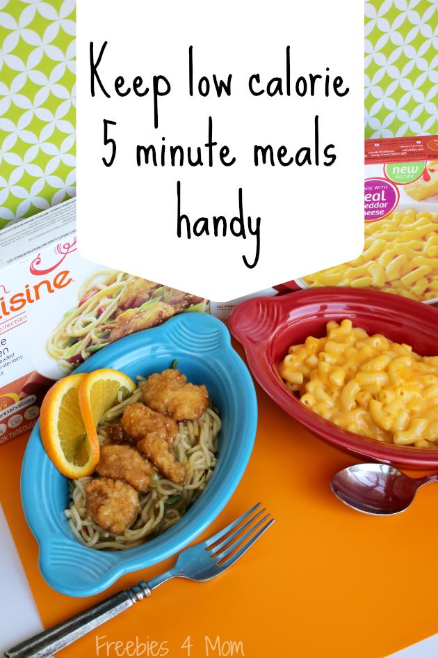 Keep low calorie 5 minute meals handy #WowThatsGood #shop