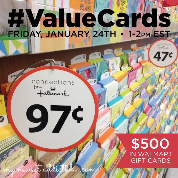 Hallmark #ValueCards Twitter Party Jan. 24 1-2pm ET #shop