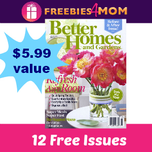 Expired 1 FREE YEAR Of Better Homes And Gardens