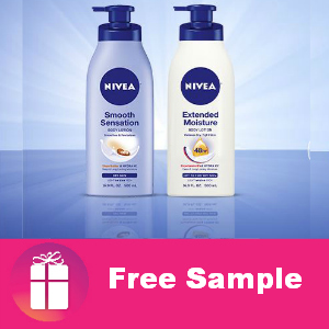Choose Your Nivea Lotion Sample