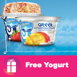 Free Alpina Greek Yogurt