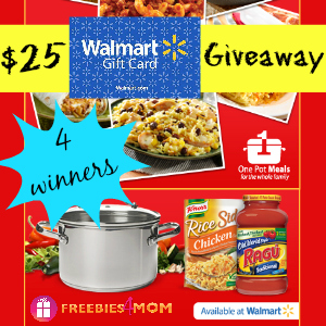 One Pot Meals Giveaway