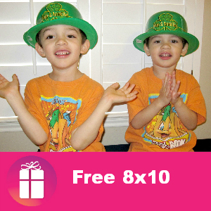 Free 8x10 Photo from Walgreens