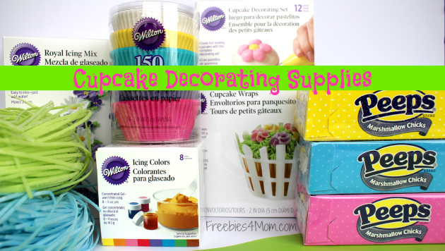 PEEPS Cupcake Decorating Supplies