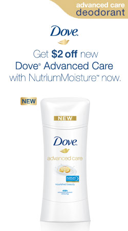 $2.00 off Dove® Advanced Care Coupon