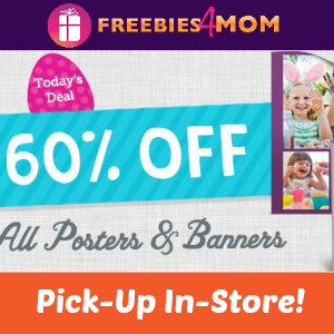 60% off Posters & Banners