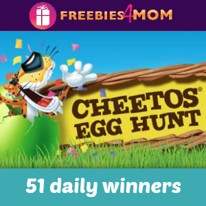 Cheetos Egg Hunt Sweeps
