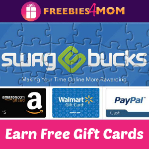 Join Swagbucks to Earn Free Gift Cards