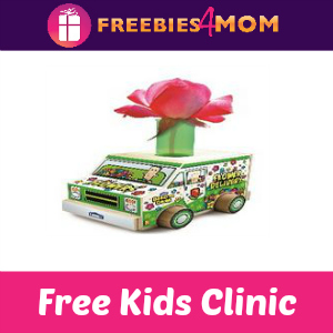 Free Flower Delivery Truck Lowe's Kids Clinic