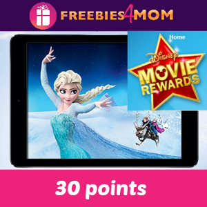 30 pts Disney Movie Rewards