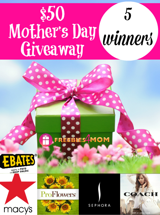 $50 Mother's Day Giveaway