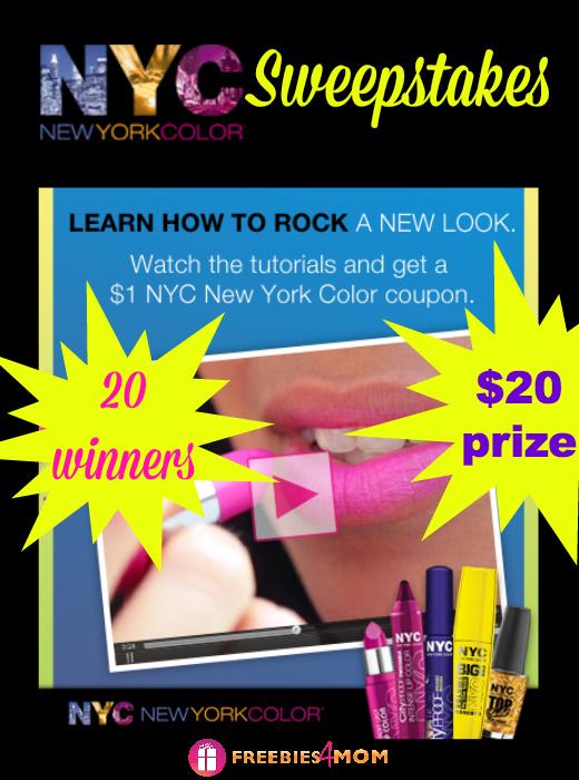 NYC New York Color Sweepstakes