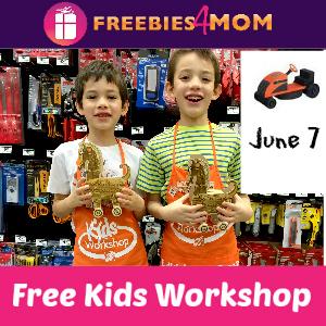 Free Kids Workshop June 7 at Home Depot